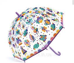 Зонт прозрачный радуга Djeco