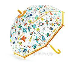 Зонт прозрачный Космос Djeco