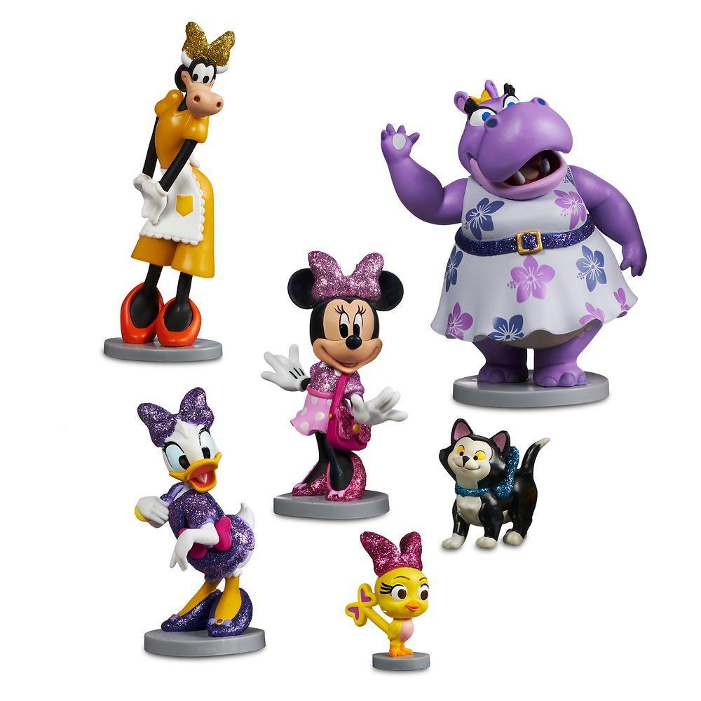 Disney Store Игровой набор с фигурками Минни Маус Счастливые помощники minnie Figure Play Set