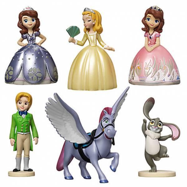 Disney Store Игровой набор с фигурками София Прекрасная Sofia the First Figure Play Set