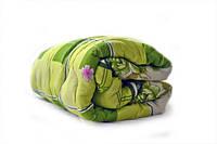 Одеяло полуторное Лери Макс наполнитель силикон  - салатовое