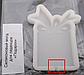 Молд силиконовый кондитерский для леденцов подарок с отверстием для палочек разм 7,3*6 см, фото 2