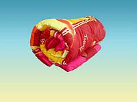Одеяло двуспальное Лери Макс наполнитель силикон красное