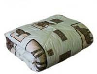 """Теплое двуспальное одеяло """"Лери Макс"""" - наполнитель двойной силикон"""