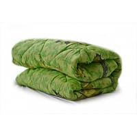 Одеяло полуторное Лери Макс наполнитель синтепон - зелёное