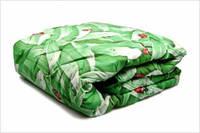 Двоспальну ковдру Лері Макс наповнювач синтепон салатова