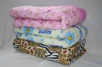 Двуспальное одеяло Лери Макс теплое синтепоновое - все окрасы