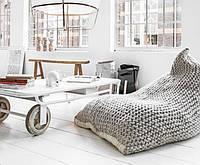 10 идей для вязаного декора дома из толстой и объемной пряжи