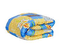 Двоспальну ковдру Лері Макс наповнювач синтепон синя абстракція