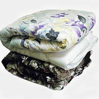 Двоспальну ковдру Лері Макс наповнювач синтепон великі квіти