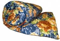 Двоспальну ковдру Лері Макс наповнювач синтепон бежеві квіти