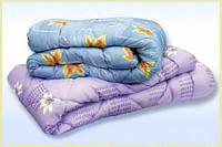 Одеяло с овечьей шерсти полуторное Лери Макс - цветы