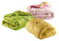 Одеяло из овечьей шерсти полуторное Лери Макс разные окрасы
