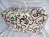 Одеяло двуспальное из овечьей шерсти Лери Макс - вензеля
