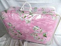 Одеяло двуспальное из овечьей шерсти Лери Макс - розовый окрас