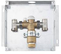 Комплект регулирующий FLOORFIX для напольного отопления, для скрытого монтажа, крышка белого цвета