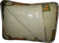 Одеяло полуторное из овечьей шерсти Лери Макс - бежевое