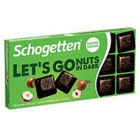 Шоколадка Schogetten Nuts Dark Chocolate 100 g