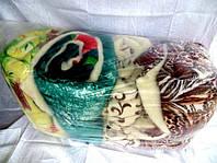 Двуспальное одеяло из овечьей шерсти Лери Макс разные окрасы