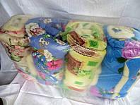 Двуспальное одеяло из овечьей шерсти Лери Макс - разные окрасы