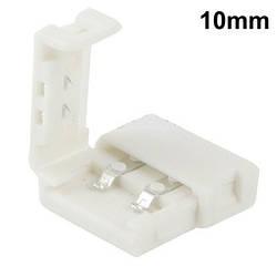 Коннектор пластиковый 10mm  Connector NEW 2pin