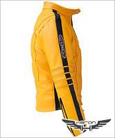 Куртка Умы Турман  Убить Билла Kill Bill кожаная куртка, фото 1