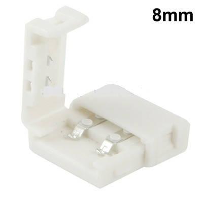 Коннектор пластиковый 8mm Connector NEW 2pin