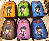 Молодежные рюкзаки с супергероями Brawl Stars (6цветов)27х38см, фото 4