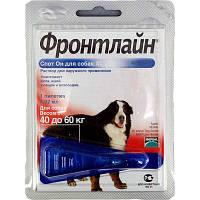 Фронтлайн(Frontline) Спот Он X L, капли на холку для собак массой 40 – 60 кг