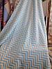 Плед из хлопка одеяло Турция 200*220 см голубой Polat, фото 2