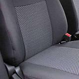 Чехлы для Рено Сандеро Renault Sandero 2007-2012 (цельная з/сп) Nika, фото 3