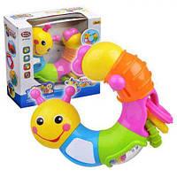 """Развивающая игрушка для малышей """"Гусеница"""" 9182"""