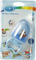Ниблер сеточка для кормления голубой Lindo LI 805