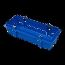 Подрозетник прямоугольный Modul 6М (7М) скрытого монтажа