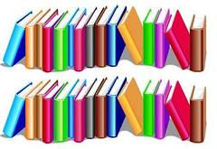 """Вафельна картинка  """"Книжки"""""""