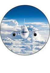 """Вафельна картинка  """"Літак"""""""
