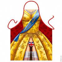 Подарочный фартук — Английская королева