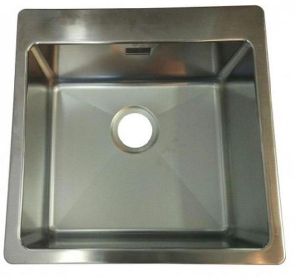 Мойка кухонная Kuchinox SK 500x500 врезная из нержавеющей стали