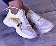 Кроссовки женские летние белые сетка, фото 7