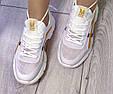 Кроссовки женские летние белые сетка, фото 9