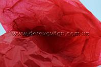 Бумага тишью, темно-красная, упаковка 100 шт., 50 на 75 см