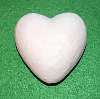 Сердечко з пінопласту 7 см 1497, фото 1