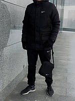 Куртка мужская зимняя Parka черная