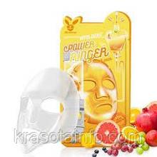Тканевая маска для лица с витаминами Elizavecca face care vita deep power ringer mask pack, Корея, 23 мл