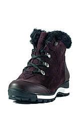 Ботинки зимние женские MIDA 24830-660Ш бордовые (36), фото 3