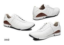 Мужские кроссовки, натуральная кожа