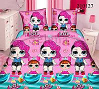 Качественный комплект постельного белья для девочек