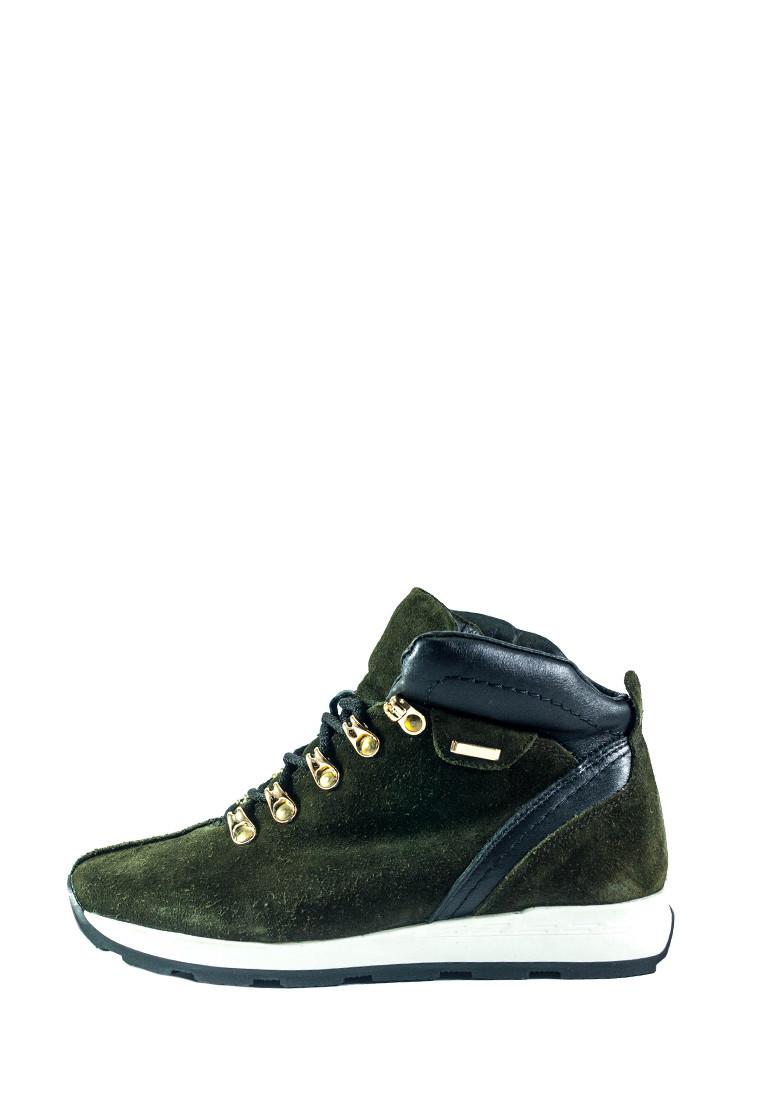 Ботинки зимние женские MIDA 24750-240Ш зеленые (36)