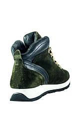 Ботинки зимние женские MIDA 24750-240Ш зеленые (36), фото 2