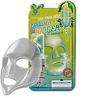 Тканевая маска для лица с чайным деревом Elizavecca Tea Tree Deep Power Ringer Mask Pack Корея, 23 мл